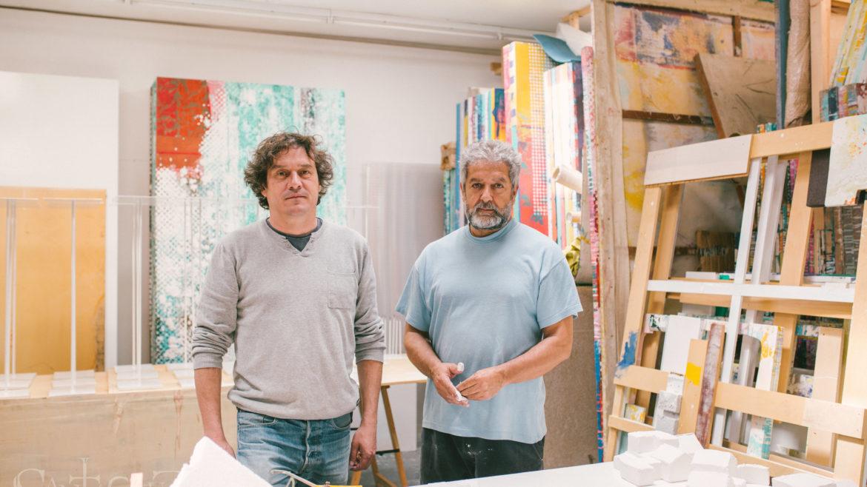 Alejandro Kraewitz y Juan Gopar. Fotografía por Richard Cavero