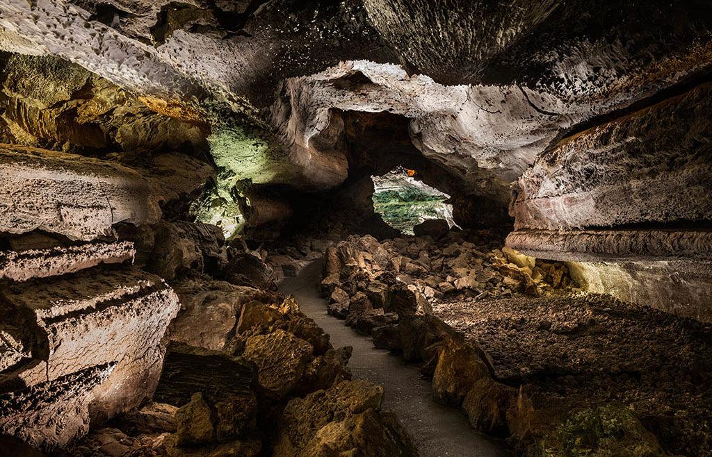 Cueva de los Verdes / Imagen cedida por los Centros de Arte, Cultura y Turismo de Lanzarote